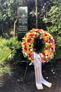 Gedenkfeier des Instituts für Anatomie im Mai 2019